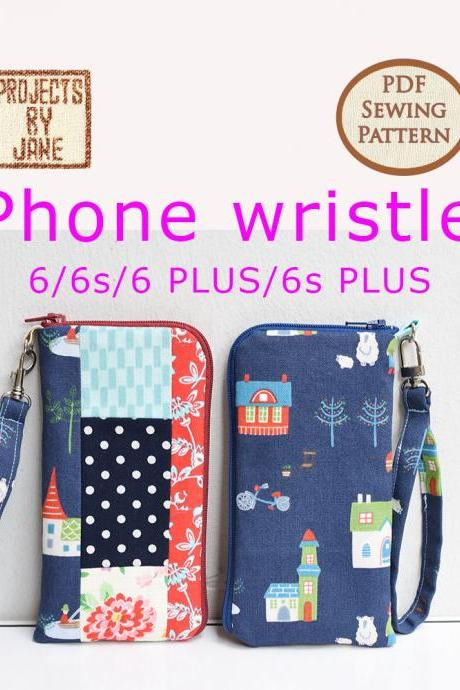 iPhone wristlet PDF Pattern